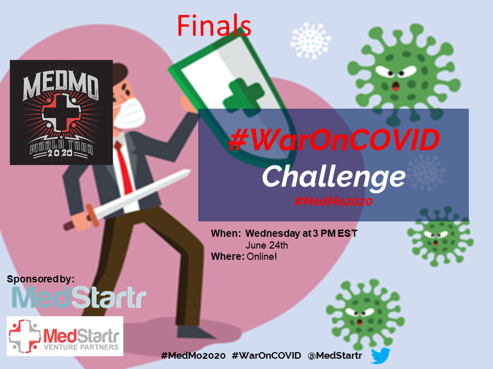 War On COVID Crowd Challenge Finals