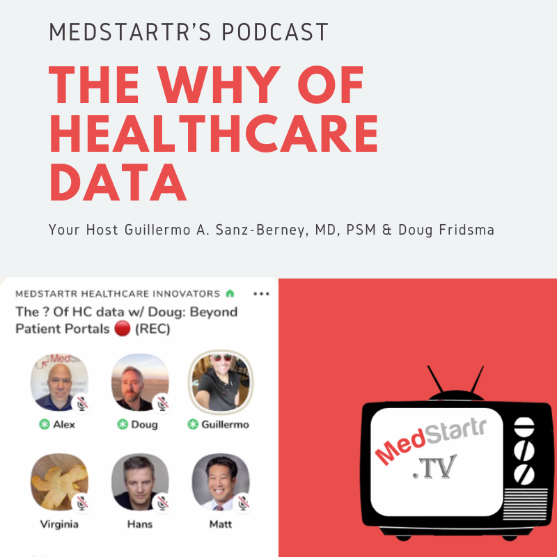 The Why Of Healthcare Data- hosted by Guillermo A. Sanz-Berney, MD, PSM & Doug Fridsma